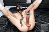 Cock Pump in Bedroom