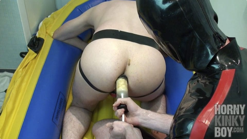Dirty Anal Play In Rubber Boat
