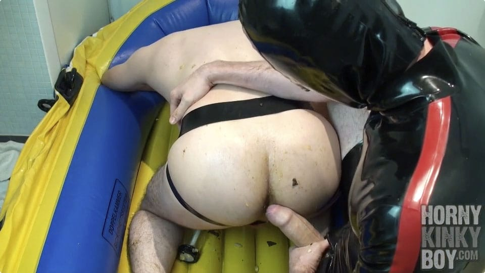 Dirty Anal Play In Rubber Boat (Part II)
