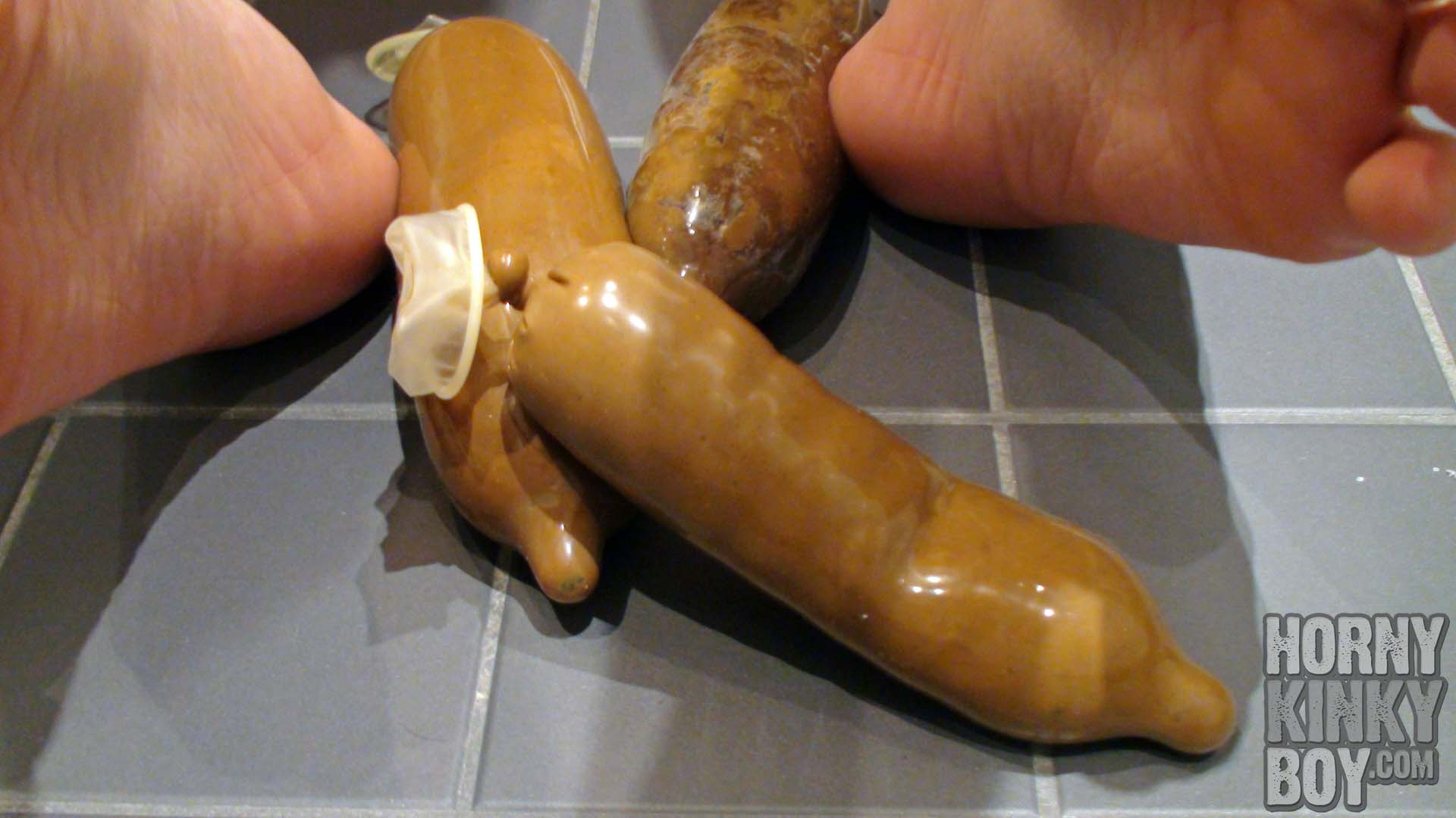 My Feet And My Shit Condoms