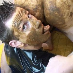 Dirty Scat Sex in Rubber Boat (Part II)