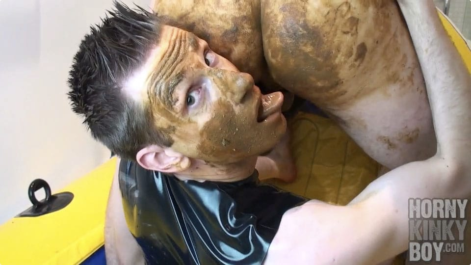 Dirty Scat Sex In Rubber Boat