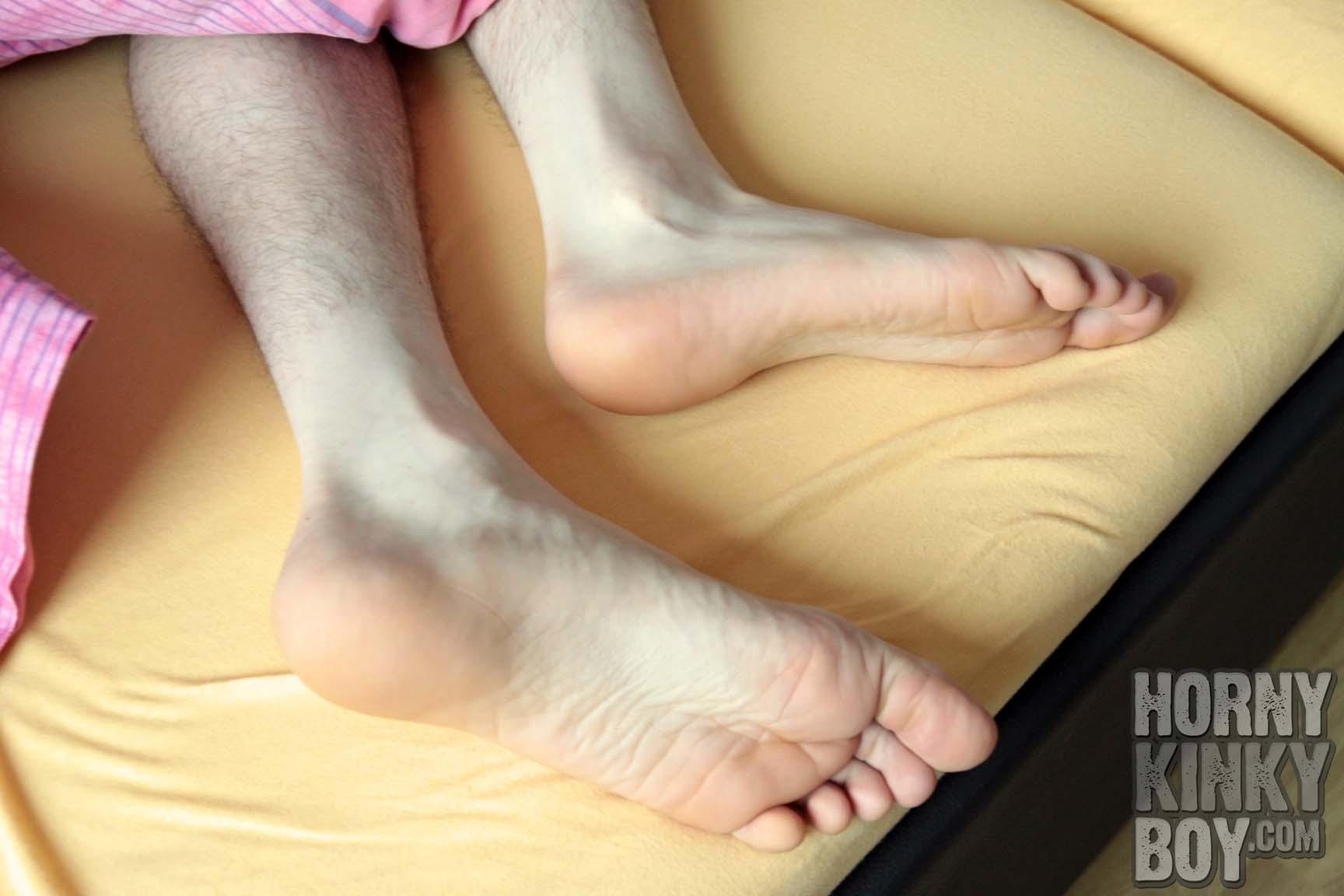 Sleeping Boy Feet