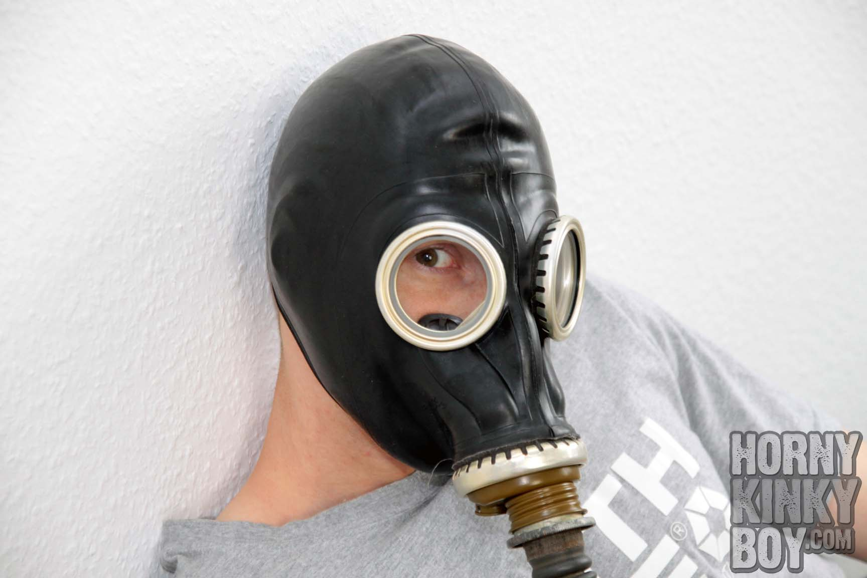 Getting Horny In Proll Skater Gear, Sneaks, And Gas Mask
