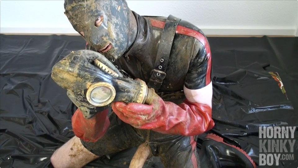 A Young Rubber Boy's Fecal Paradise (Part V)