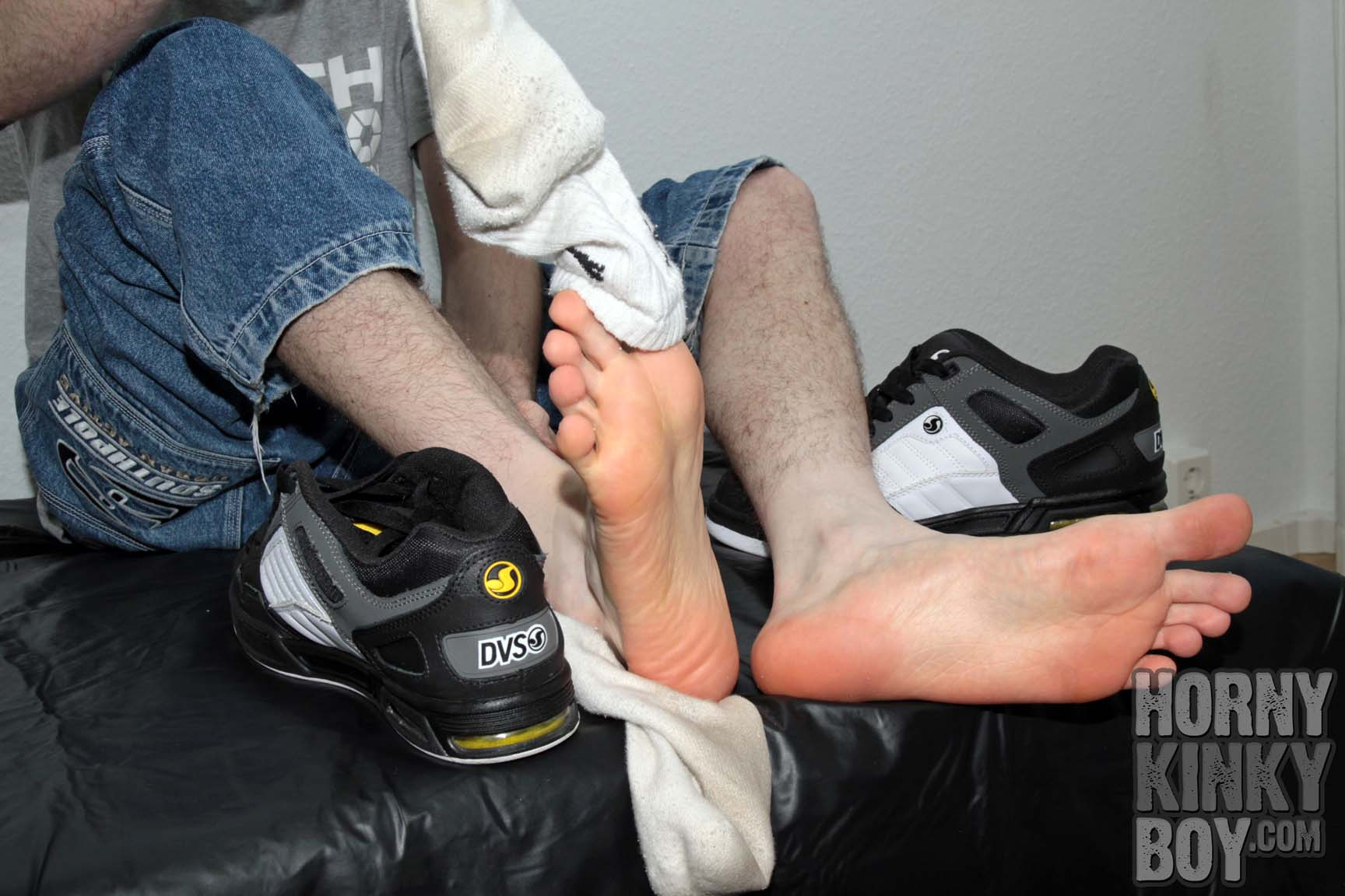 Skater Guy With Sneaker, Socks, And Foot Fetish I