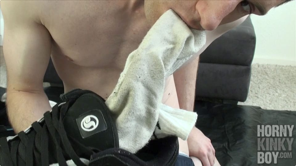 Topless Skater Sniffing And Masturbating (Part II)