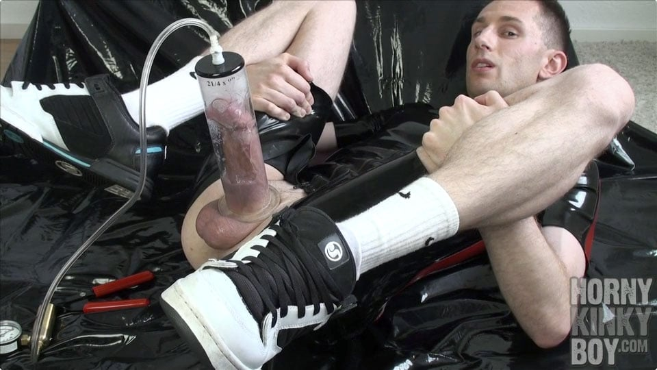 Horny Dick Pumping And Black Latex Fantasies (Part III)
