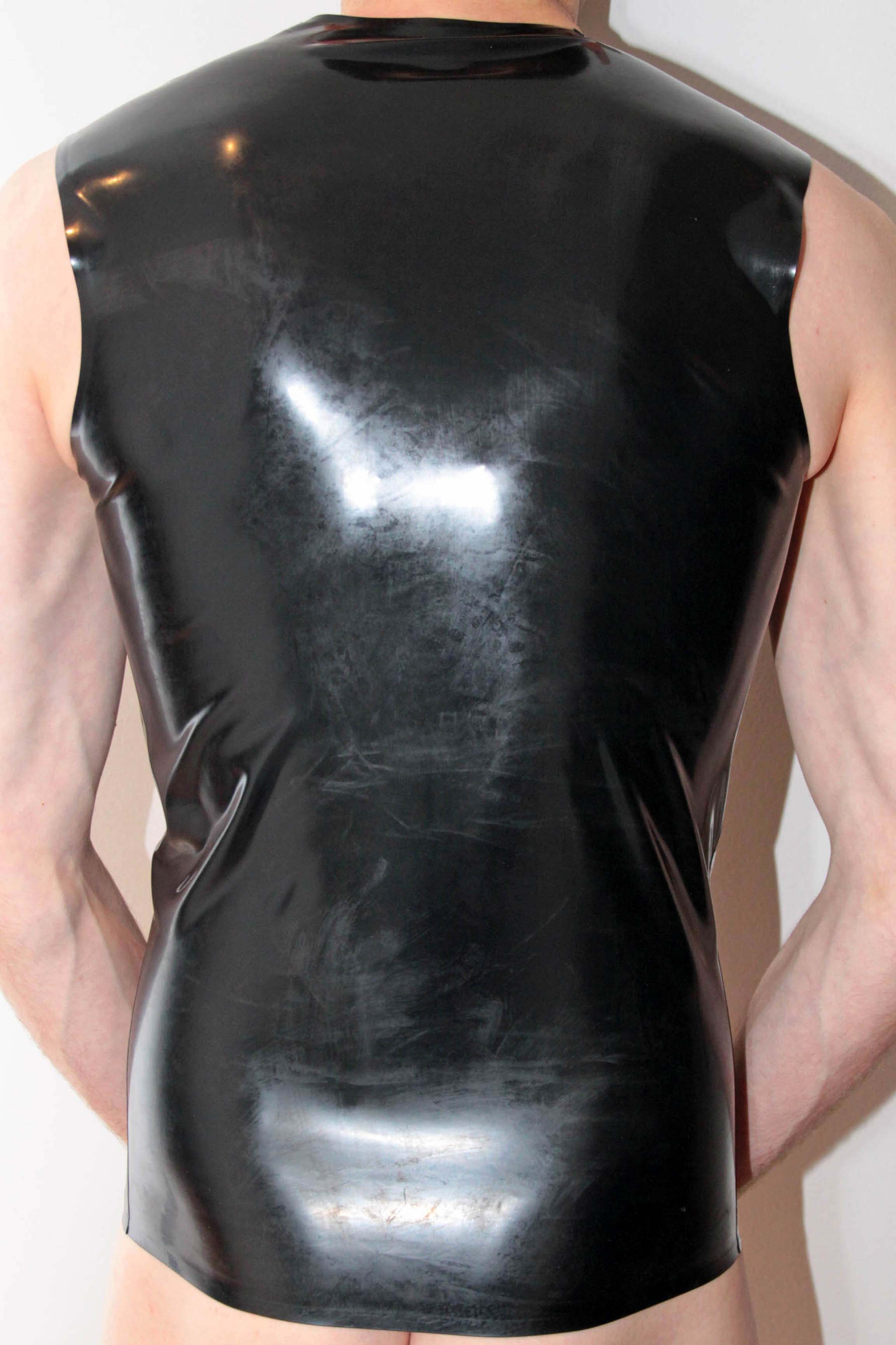Rubber Shirt – Black