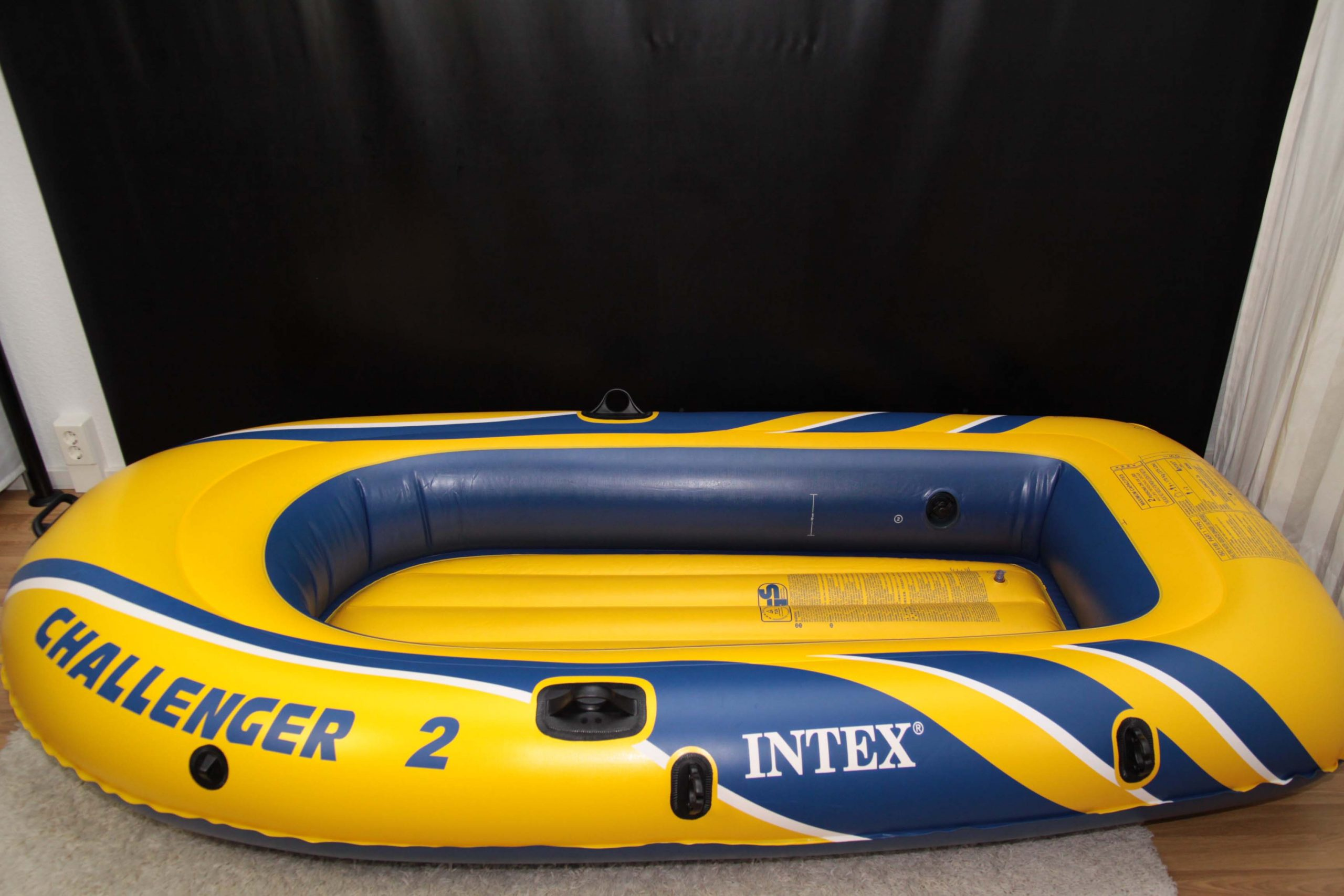 Rubber Boat – Yellow