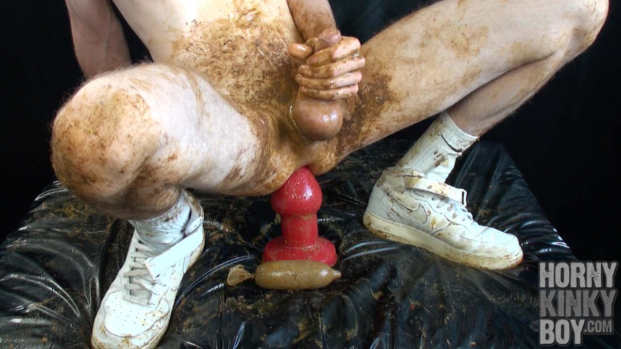 Asshole Scat Plug Training Session