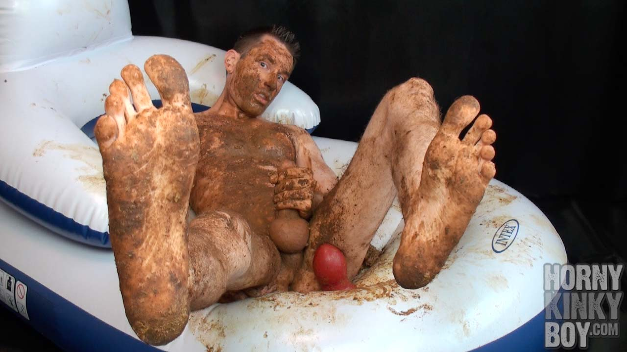 Naked Guy Gets Dirty On His Play Chair (Part IV)