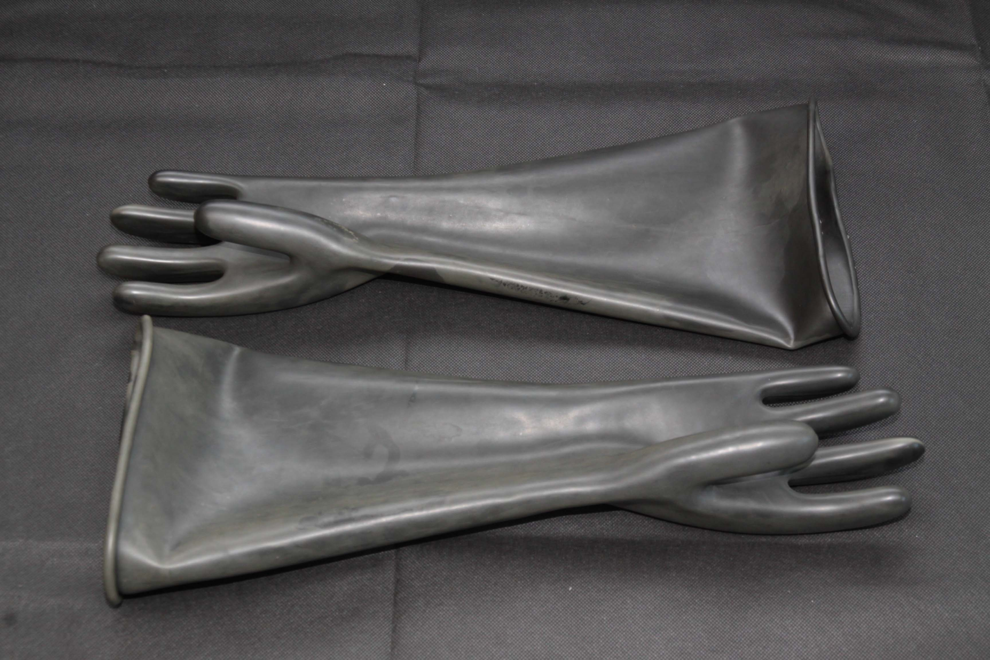 Industrial Rubber Gloves (Elbow Length)