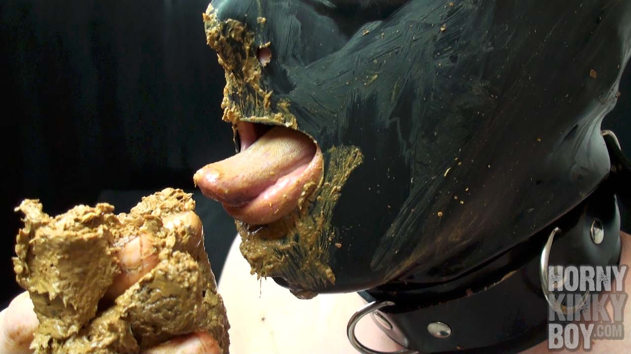 Hungry Scat Toilet Humiliates Himself (Part II)