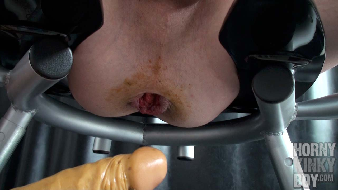 Fucking Dirty Shit Hole Gaping On Rim Chair
