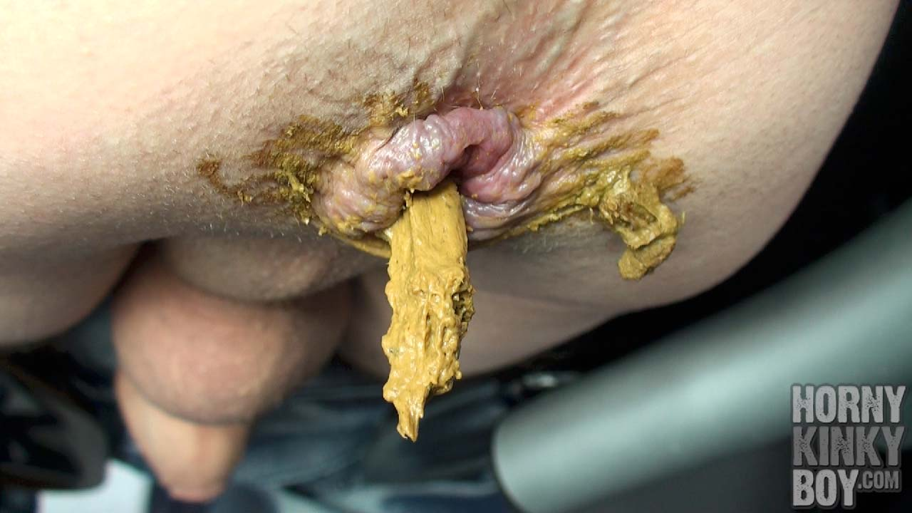 Sloppy Skater Poop Chute Dumps A Hot Shit Load