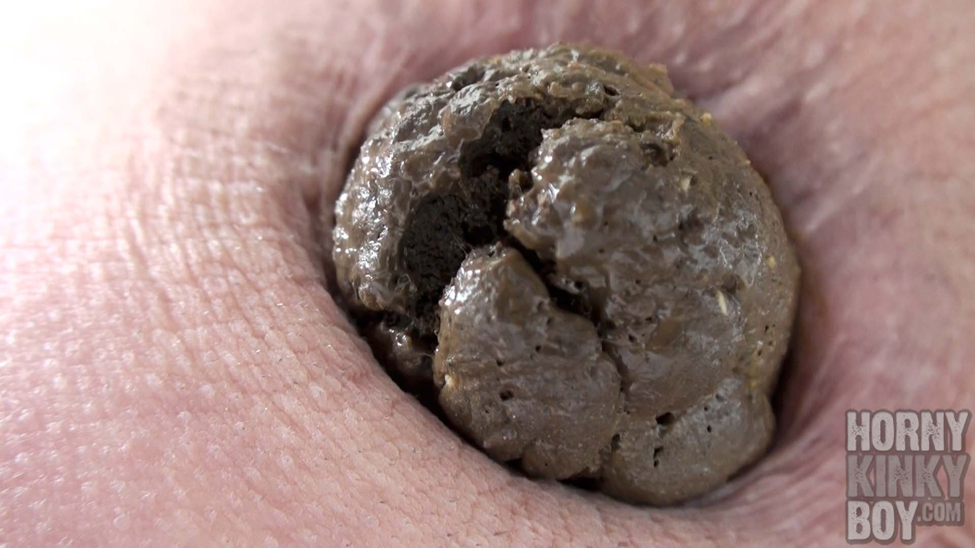 Earthy Shit As Result Of Colon Cleaning With Healing Earth