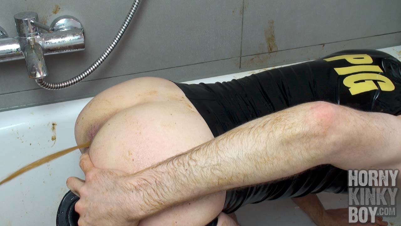 Enema Slut Into Wet And Dirty Toilet Sex (Part IV)