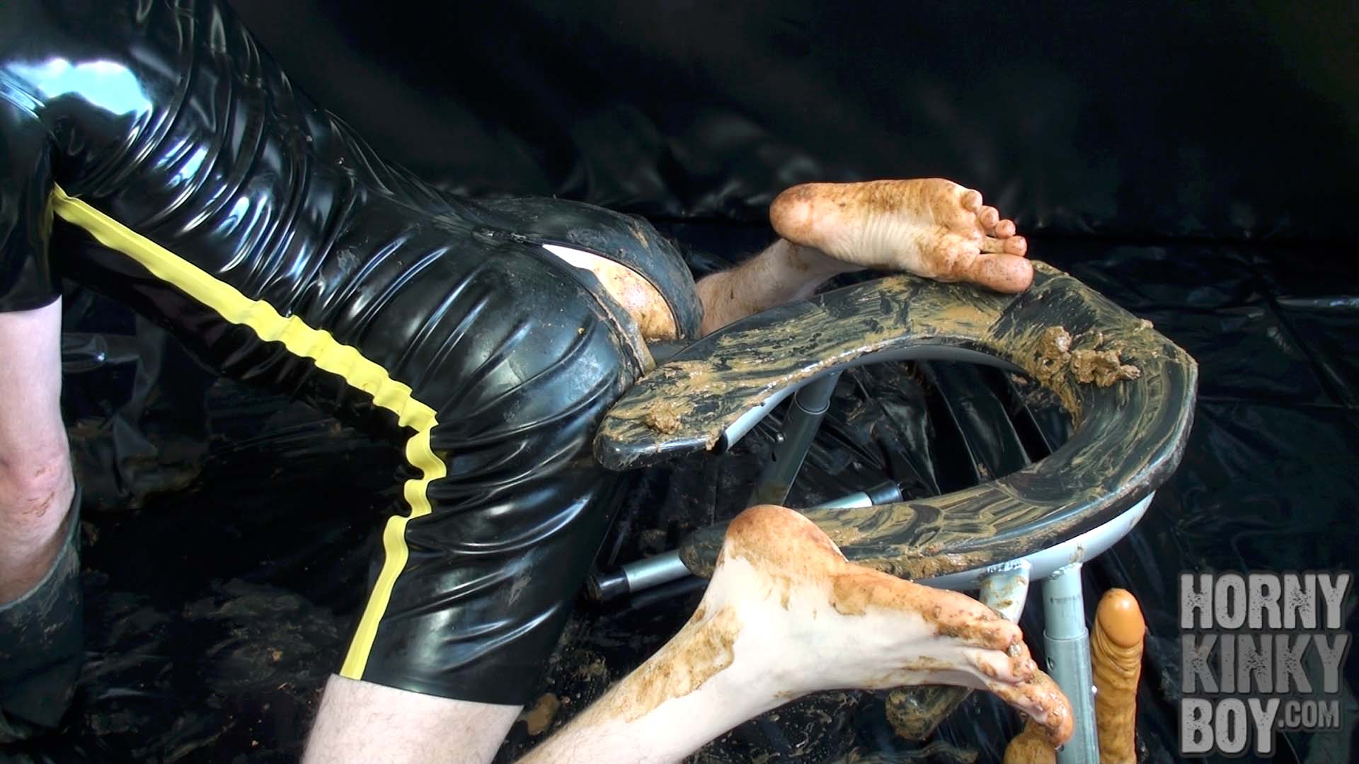 Erotic Foot And Scat Play With Rim Chair (Part I)