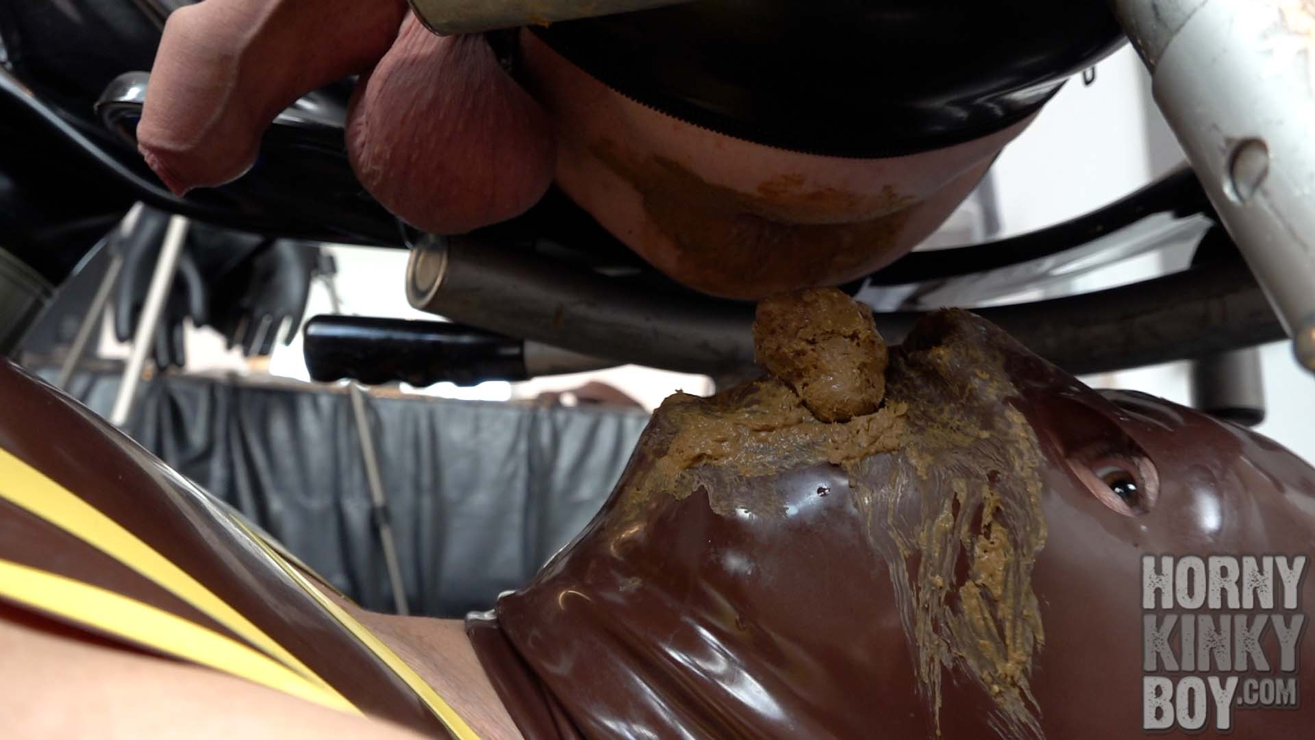 Feeding The Rubber Toilet Slave Vol. 5 (Part I)