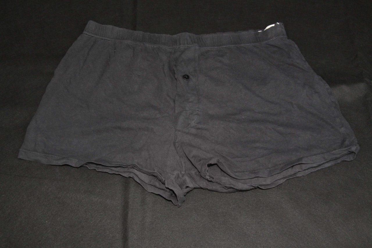 Boxer Shorts – Black – Heavy Used