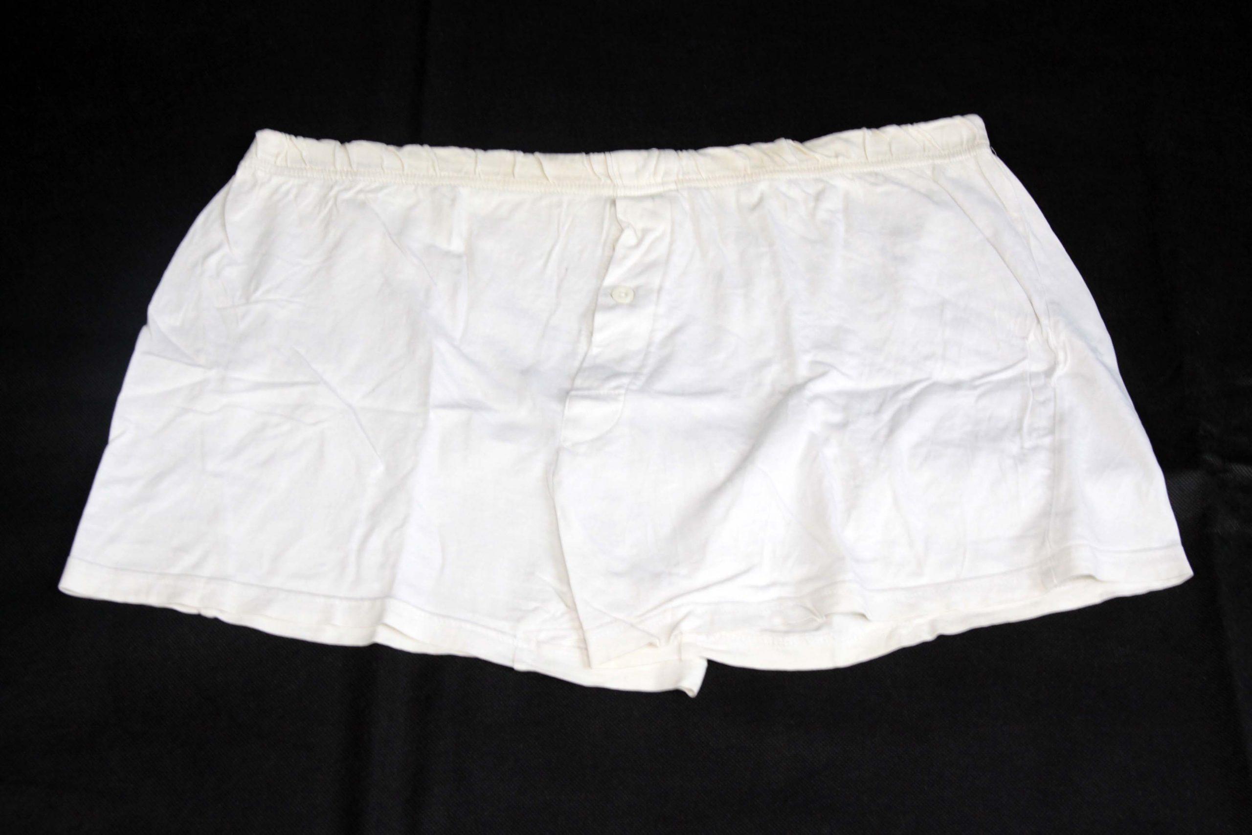 Boxer Shorts – White – Heavy Used