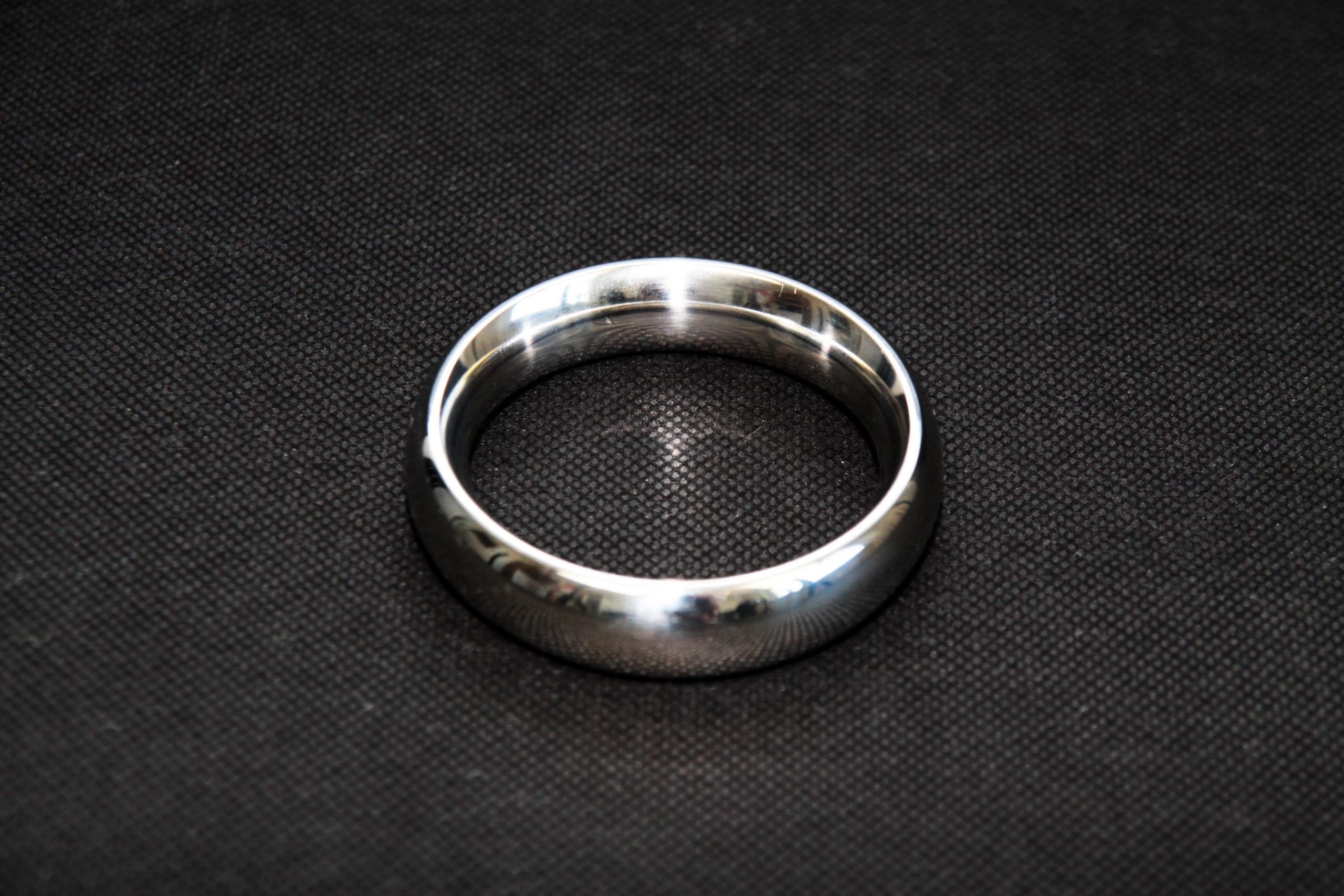 Cock Ring – Stainless Steel – 55 Mm