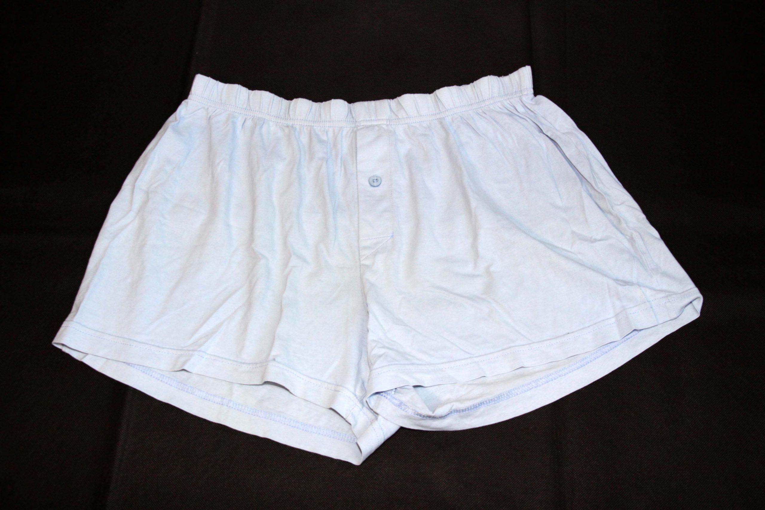Boxer Shorts – Light Blue – Heavy Used