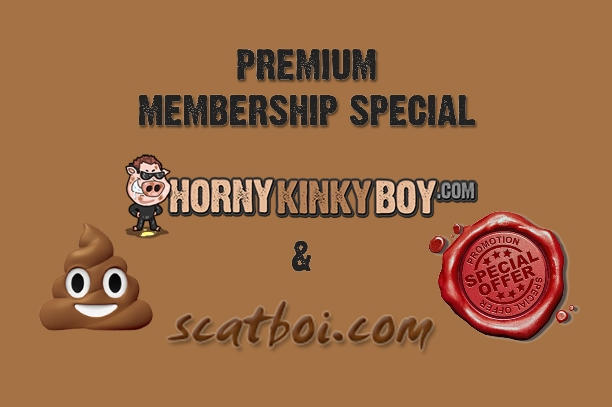 90 Days Non-Recurring HornyKinkyBoy And Scatboi Membership Special